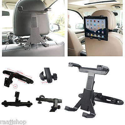 Universal In Car Back Seat Headrest Holder Mount Cradle For Ipad 1 2 3  Mini Air
