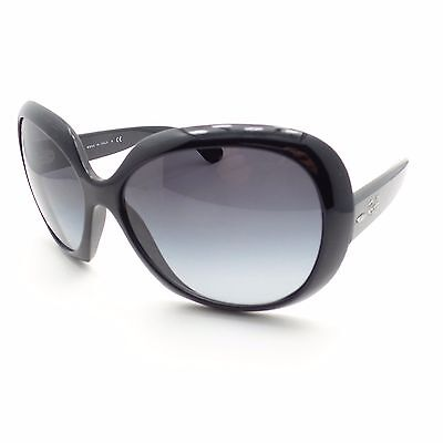 Ray Ban 4098 601/8G Black Grey Fade New Sunglasses Authentic