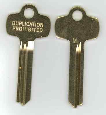 Best M Duplication Prohibited Look a Like Key Blank X2