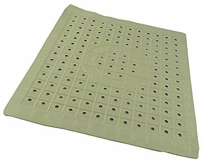 Non Slip Rubber Sink Mat Dish Drainer Glass Scratch Protector Kitchen Washing Up