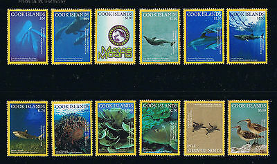 Cook Islands - 2016 Pacific Marine Life Postage Stamp Set