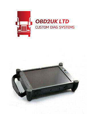 DIAGNOSTIC System Compatible with MERCEDES CAR AND TRUCK  TOUCHSCREEN