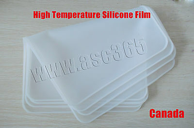 High Temperature Silicone Film 3D Vacuum Sublimation Transfer Machine Accessory