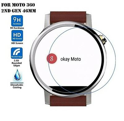 High Quality Premium Real Tempered Glass Screen Protector for Motorola Moto 360