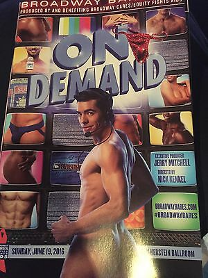 26th Broadway Bares On Demand Playbill