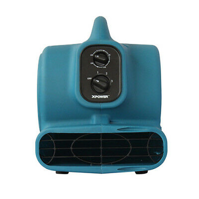 XPower 1/4HP Mini Air Mover - Carpet , Paint & Water Damage Drying, Blowers