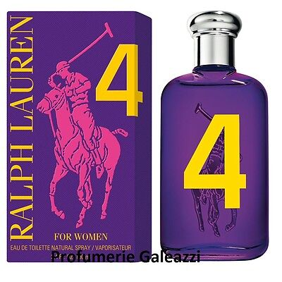 RALPH LAUREN 4 FOR WOMEN THE BIG PONY COLLECTION EDT VAPO NATURAL SPRAY - 100 ml
