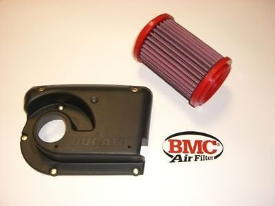 KIT BMC filtro aria Cover airbox Ducati Sport Classic 1000 Paul Smart GT 1000 s