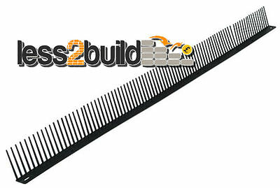 50 Eaves Bird Combs Roof Tile Gap Filler 1mtr Long Comb Roofing Materials Business Office Industrial Supplies Indianbusinesstrade Com