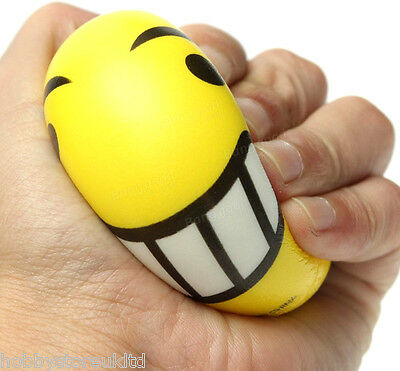 Emoji Stress Ball Smiley Face Stressball Mood Ball Stress Reliever Ball Toy New