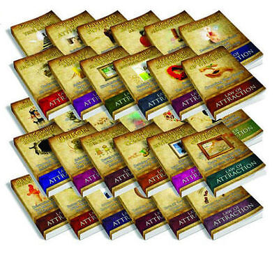 Law Of Attraction Study Bundle Ebooks On Cd LOA Spiritual Laws of Universe Guide