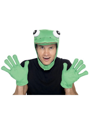 Frog Kit Animal Toad Green Adult Mens Smiffys Fancy Dress Instant Costume