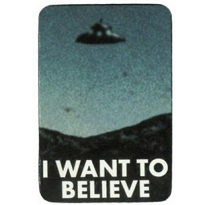 FUN - I Want To Believe - Aufkleber Sticker - Neu #246 - Funartikel