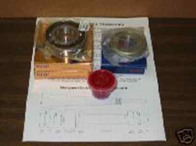 Spindle Rebuild Kit For Bridgeport Series I Mill With Instructions, J Or 2J Head