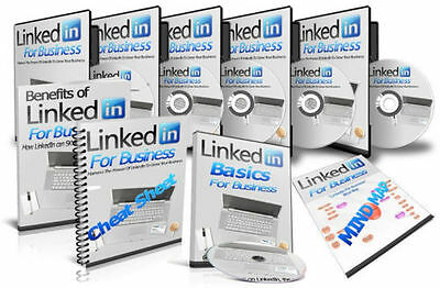 How To Grow Your Business With LinkedIn Marketing Course on CD