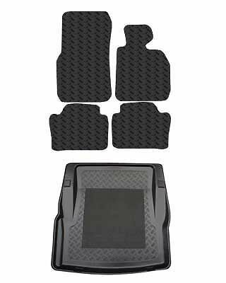 Tailored Rubber Car Mats & Bootliner For BMW 3 Series F30 Saloon 2012 Onwards