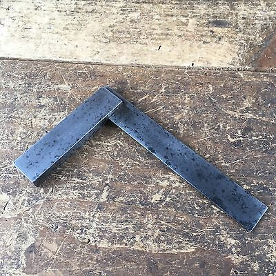 """Vintage Hand Tools ENGINEERS Moore & Wright 4"""" Square Old Antique  Tool #80"""