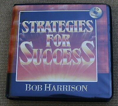 Bob Harrison Strategies for Success 8 CD Set Financial Motivation Planning Audio