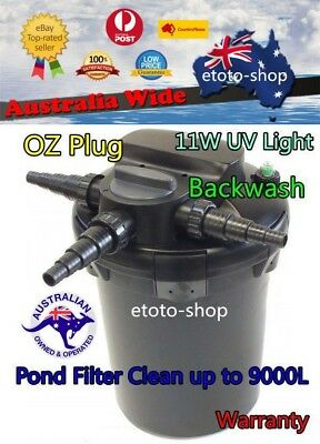 Jebao / Jecod Auto Clean BF-9000E 11W UVC Bio Fish Pond Filter 9000L