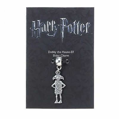 Official HARRY POTTER Jewellery Silver Plated DOBBY THE HOUSE ELF Slider Charm