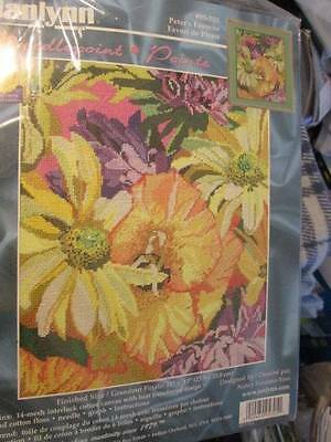 Janlynn Peter's Favorite Flowers Needlepoint Kit #05-705-11x13 Inches