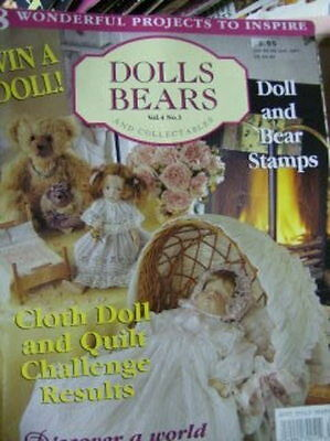 Australian Dolls Bears & Collectibles #19  -8 Projects