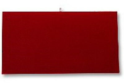 Jewelry Presentation Display Pad Insert  Red Velvet  Fits Standard Trays & Case