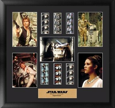Star Wars Episode IV: A New Hope Film Cell Montage