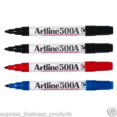 Artline 500A Whiteboard Marker - Assorted Colours