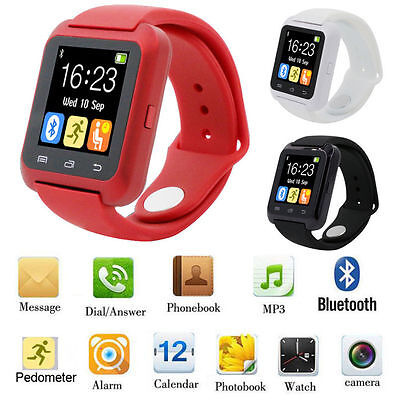 Smart Wrist Watch Phone Mate Bluetooth Camera For iPhone IOS Android Samsung LG