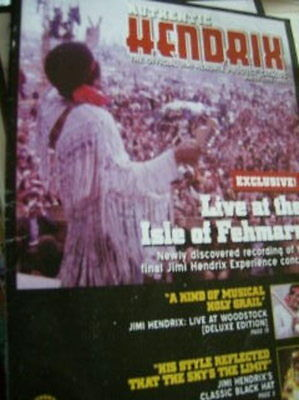 Authentic Jimi Henrix Official Catalog 2005/2006