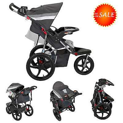 Baby Trend Stroller Jogger Jogging Travel System Multi-position Reclining Safety