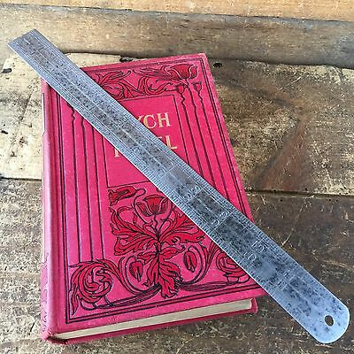 "Vintage Hand Tool J.RABONE & Sons Steel No:18 12"" CONTRACTION RULER Old #55"