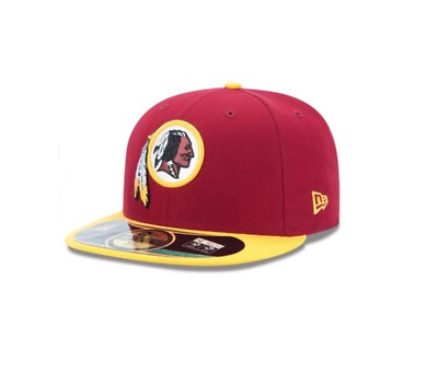 0a2ea54efc5 New Era - 59Fifty Official On Field Cap. Washington Redskins. Rrp £30.