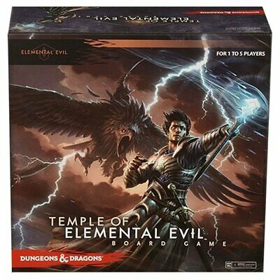 D&D Dungeons & Dragons Temple of Elemental Evil Board Game