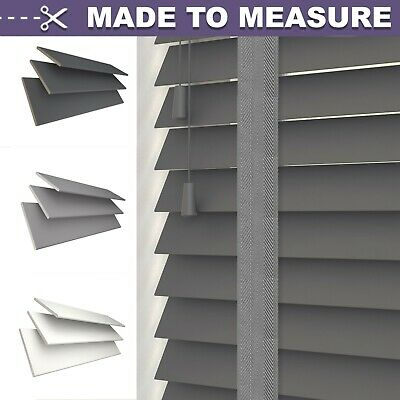 PREMIUM MADE TO MEASURE/ CUSTOM MADE 50mm REAL WOOD VENETAIN BLIND - TAPES