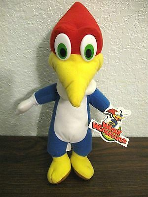 "Universal Studios 14"" Woody Woodpecker Plush Stuffed Animal by Walter Lantz"