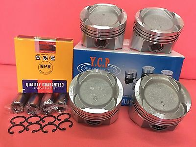 YCP 76MM  040 (1 00) Vitara Pistons Low Comp Set Honda Civic