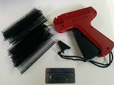Garment Price Label Tag Tagging Gun 5000 Barbs 15mm Black 1 Needle