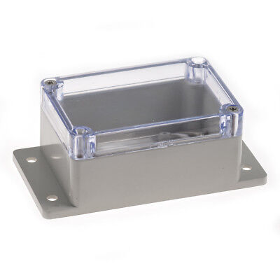 Clear Plastic Enclosure with Mount (Large)