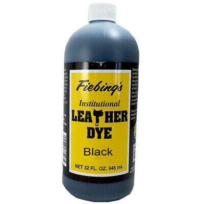 Fiebing's Water Based Institutional Leather Dye 4 Oz/ 32 Oz All Colors U-Ldyi