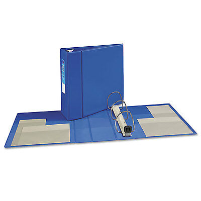 "Avery Heavy-Duty Binder with One Touch EZD Rings 11 x 8 1/2 4"" Capacity Blue"