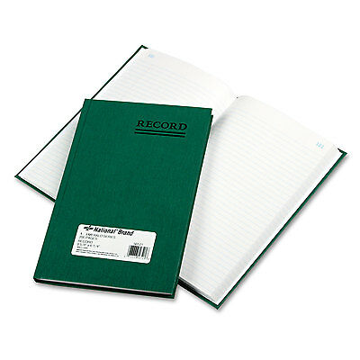 National Emerald Series Account Book Green Cover 200 Pages 9 5/8 x 6 1/4 56521