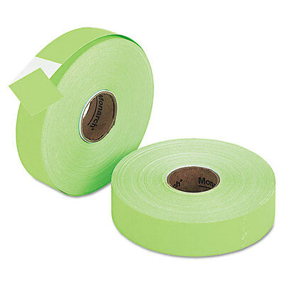 Monarch Pricemarker 1156 One-Line Labels 3/4 x 1-1/4 Fluorescent Green 2 Rolls