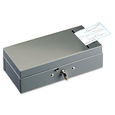 SteelMaster Steel Bond Box with Check Slot Disc Lock Gray 221104201