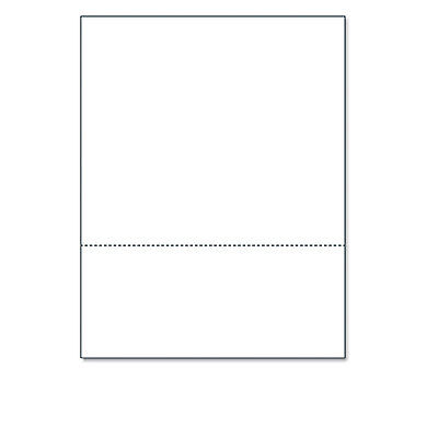 """Printworks Professional Office Paper Perforated 3 5/8"""" From Bottom 8 1/2 x 11"""