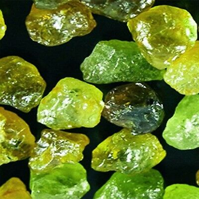 Lot-35.00-36.00 CTS_(TOTAL)- NATURAL GREEN MALI GARNET FROM 6.00 TO 13.00 CTS