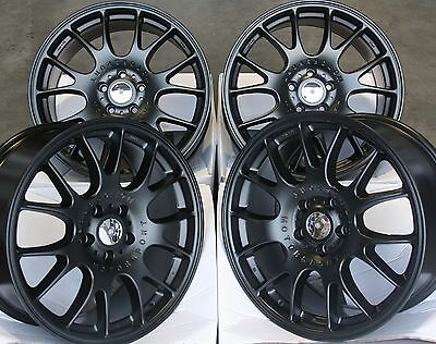 "18"" M Black Ch Alloy Wheels Fits Vauxhall Opel Astra Corsa Signum Vectra Zafira"