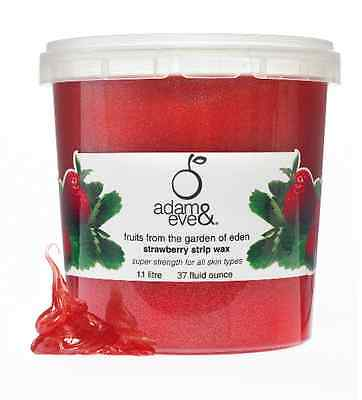 Adam & Eve Premium Strawberry Strip Wax 1kg - Waxing Hair Removal