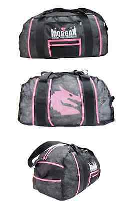 Gym Gear bag Crossfit gloves equipment kit carry yoga sport BOXING MMA MESH PINK